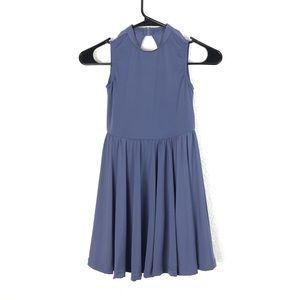 Balera Dance Leotard Dress Dusty Blue Ballet MC